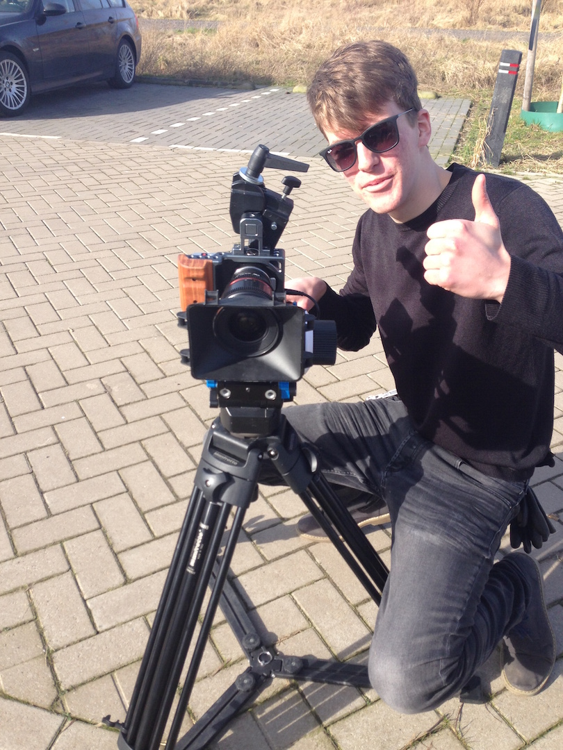 Styling ID blog: The making of The Experience Crew Jack de Vries (regisseur en cameraman)