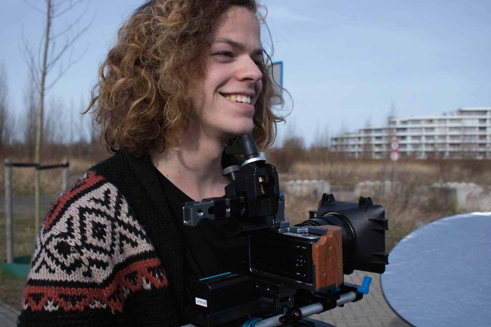 Styling ID blog: The making of The Experience Crew Camera-assistent Nick Geerlof