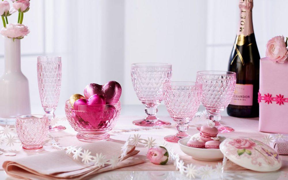 Met Valentijn op een roze wolk