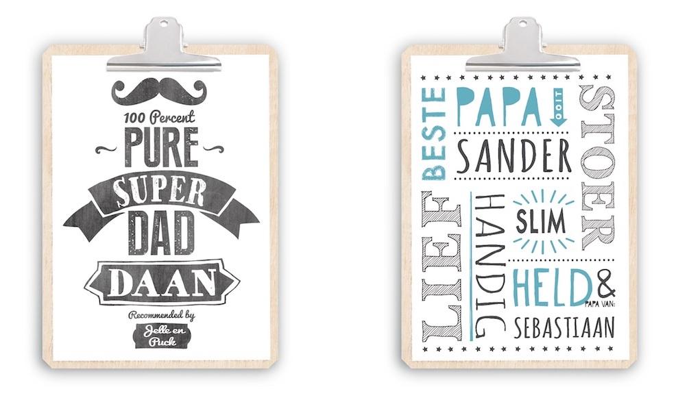 Vaderdag Posters