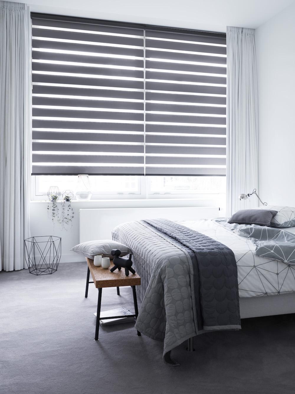 Verduisterende raamdecoratie voor een goede nachtrust