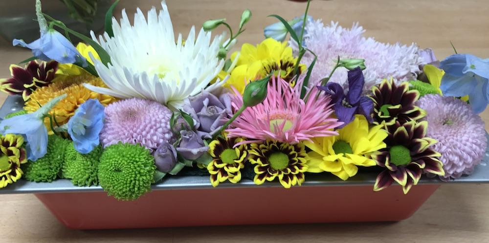 Uitbundig gestylde bloemen maken je vrolijk