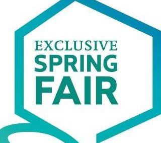 Exclusive Spring Fair 30 maart t/m 2 april 2018