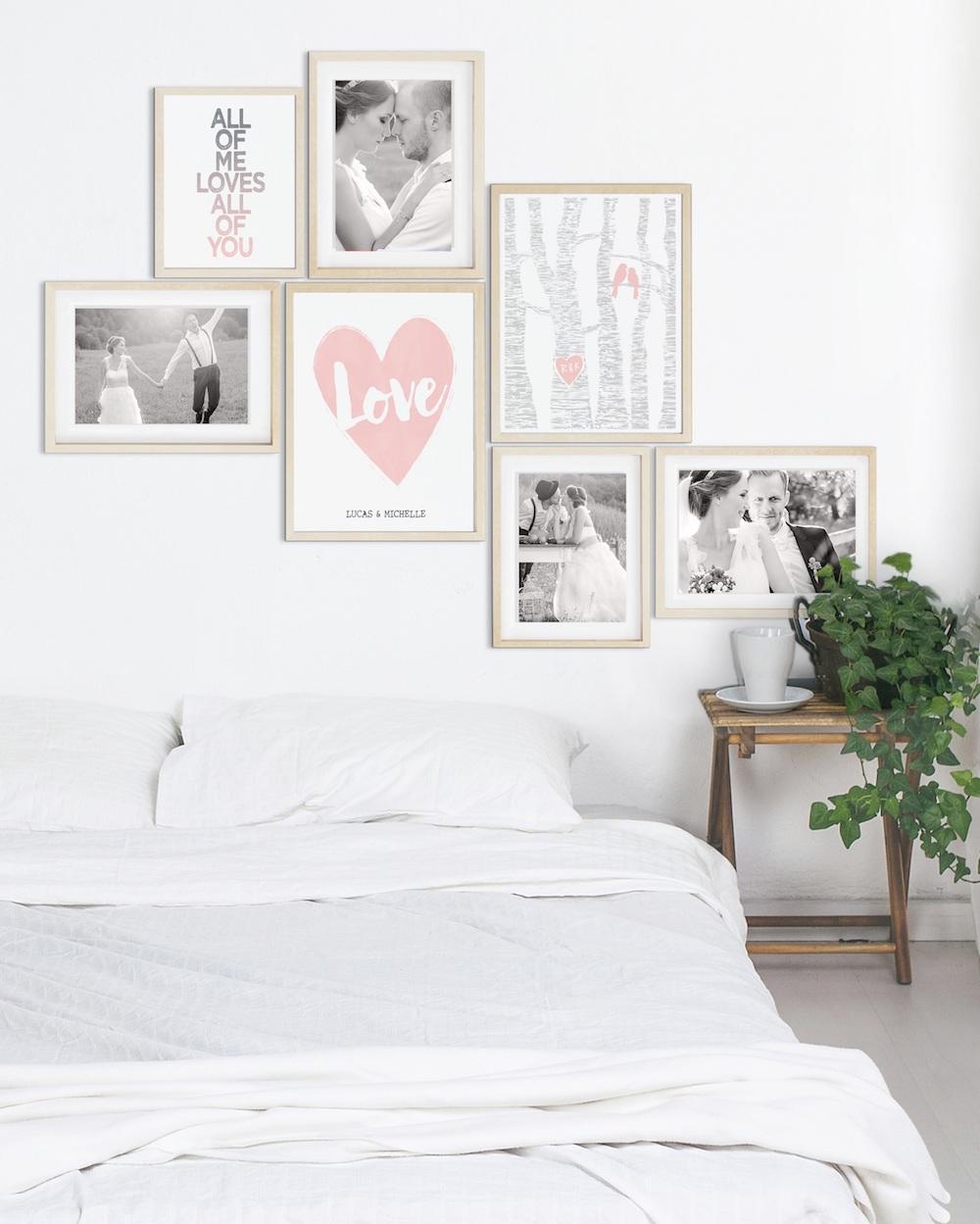Styling ID Tips & Trends: True Love slaapkamer wand - Styling-ID
