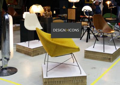 De Vintage design beurs van Amsterdam: Design Icons