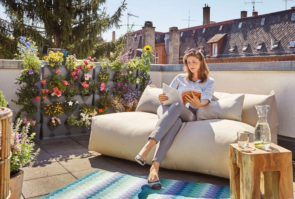 Verticaal tuinieren in een kleine tuin of op balkon