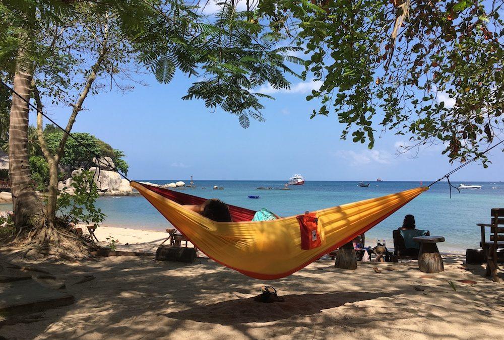 Op vakantie relaxen in jouw lichtgewicht hangmat