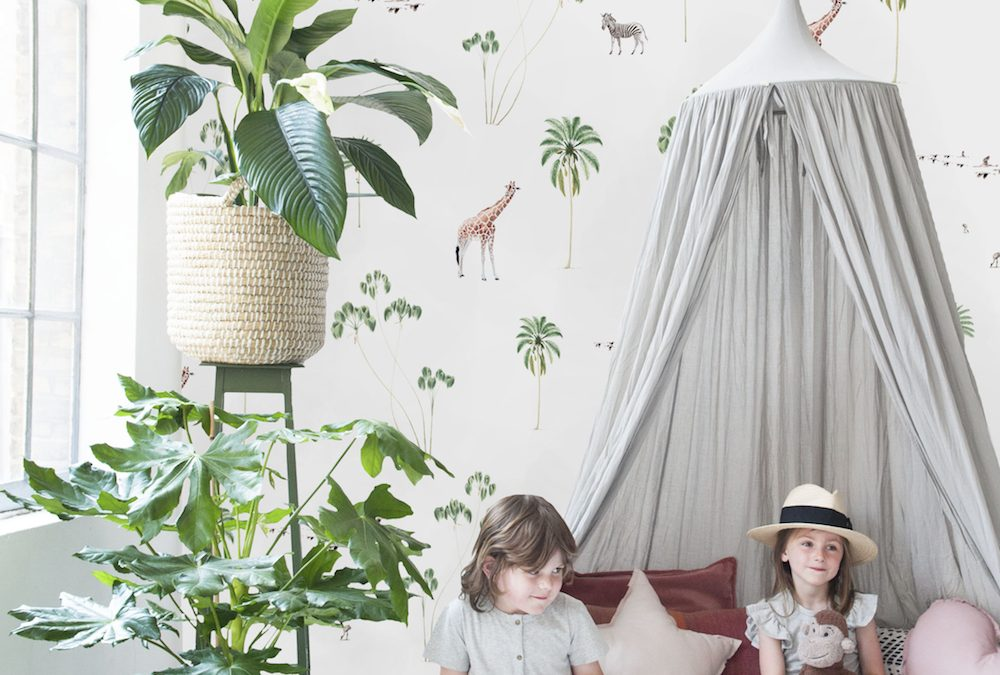 Haal de jungle in huis, met behang van Creative Lab Amsterdam