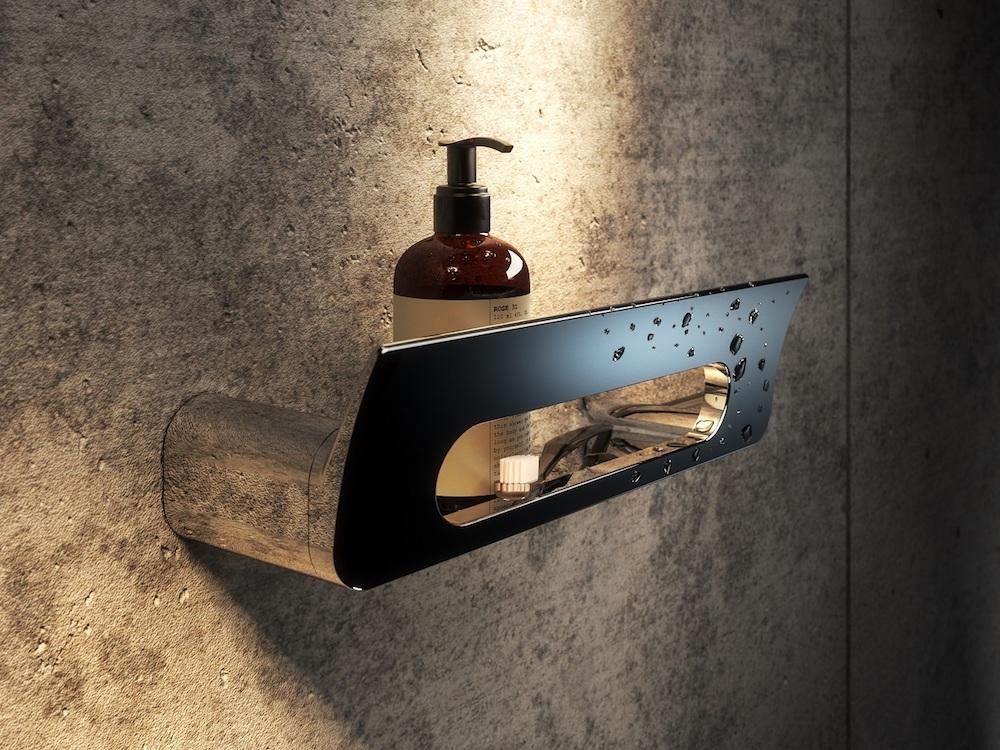 Stijlvolle douchekorf voor de kleine badkamer