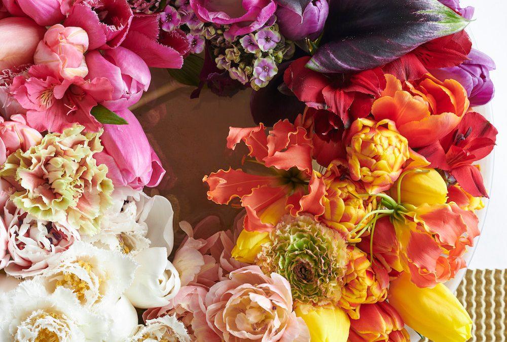 Vier het nieuwe jaar met deze kleurrijke tulpen