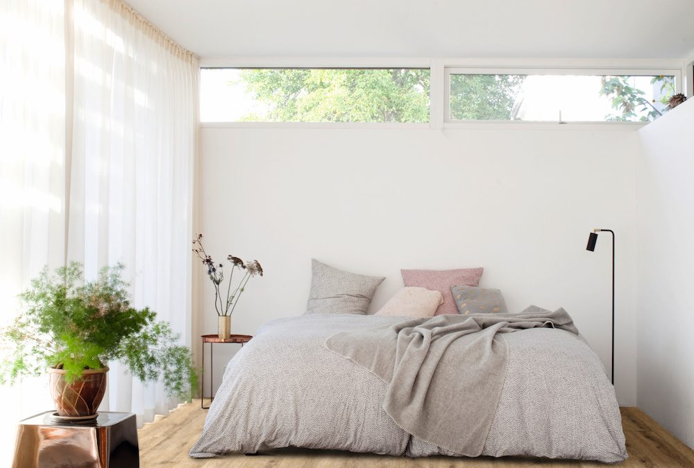 PVC designvloer met akoestische comfort