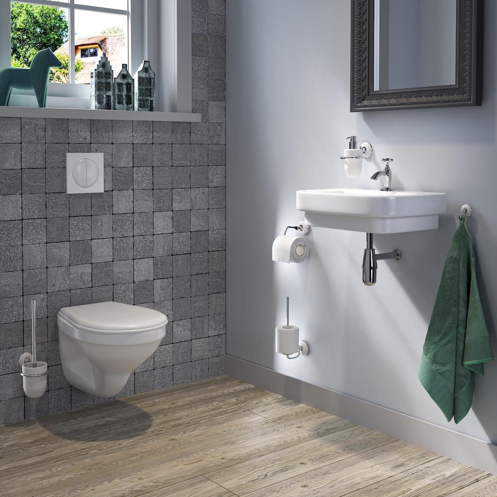 De landelijk klassieke badkamer
