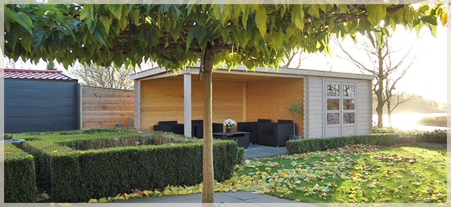 Jouw perfecte tuinhuisje